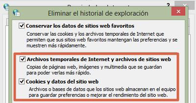 Consejos para mejorar la navegación al configurar las opciones de Internet de Windows paso 5