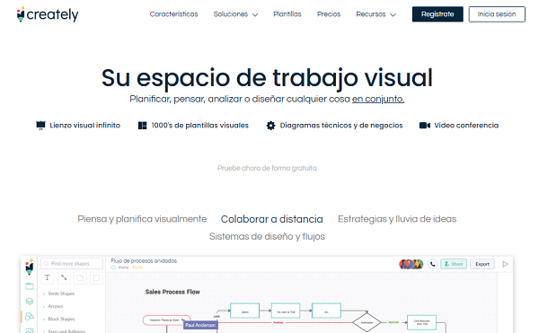 Creatly como programa para hacer o crear mapas conceptuales