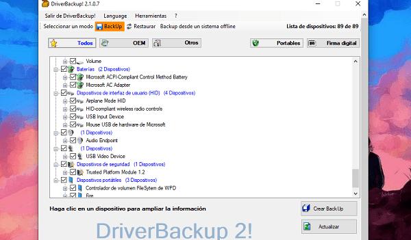 DriverBackup!