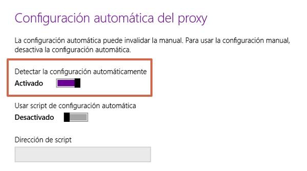 Error de activación de productos en Office cómo solucionarlo desactivando el Proxy de Microsoft Edge