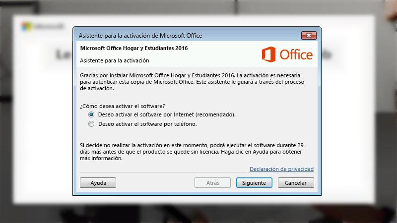 Error de activación de productos en Office cómo solucionarlo
