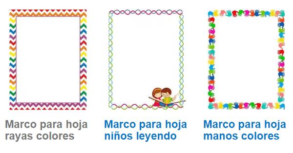 Insertar marcos o bordes en las hojas de Word desde Internet