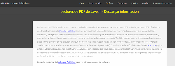 Javelin PDF Readers