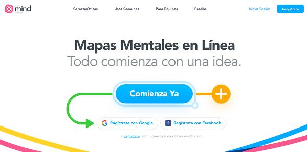 MindMeister como programa para hacer o crear mapas conceptuales