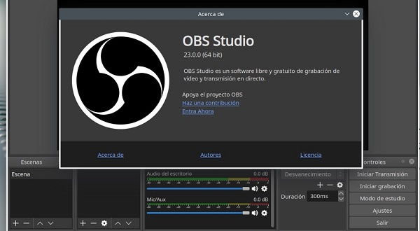 OBS Studio como programa para hacer o editar videos