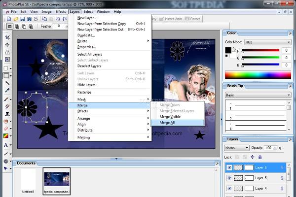 PhotoPlus6 como programa para editar fotos.