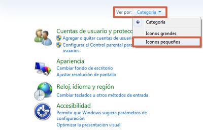 Restaurar Windows 7 con herramienta del sistema paso 1