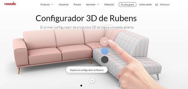 Rubens 3D (Roomle)..