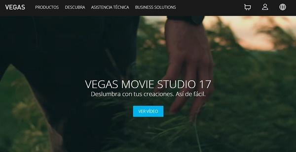 Vegas Movie Studio como programa para hacer o editar videos