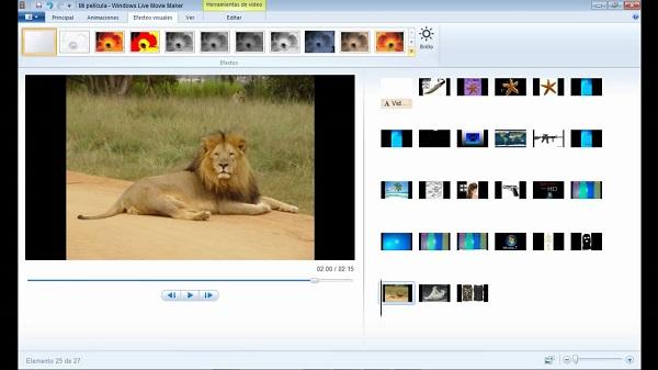 Windows Movie Maker como programa para hacer o editar videos.
