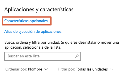 Cómo desinstalar WordPad en Windows 10 paso 3
