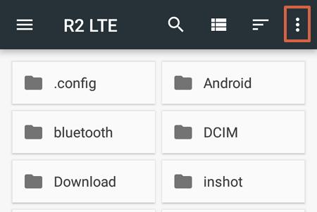 Cómo evitar que vuelvan a aparecer los archivos thumbnails en un móvil Android paso 6
