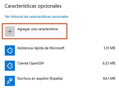 Cómo instalar WordPad en Windows 10 paso 4