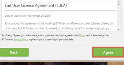 Cómo instalar uTorrent gratis en el ordenador paso 4