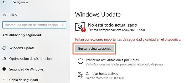Error 43 de solicitud de descriptor de dispositivo en Windows 10 causas y soluciones. Actualizar los drivers