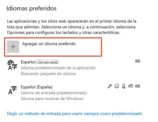 Cómo añadir el español a tu teclado paso 4
