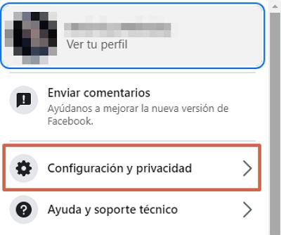 Cómo eliminar definitivamente tu cuenta de Facebook. Desactivar tu cuenta de Facebook. Paso 3