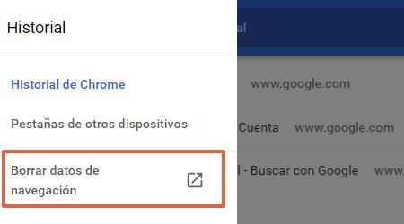 Cómo eliminar todo el historial de navegación de Google Chrome en la PC paso 2