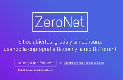 Cómo ingresar a la Deep Web con ZeroNet paso 1