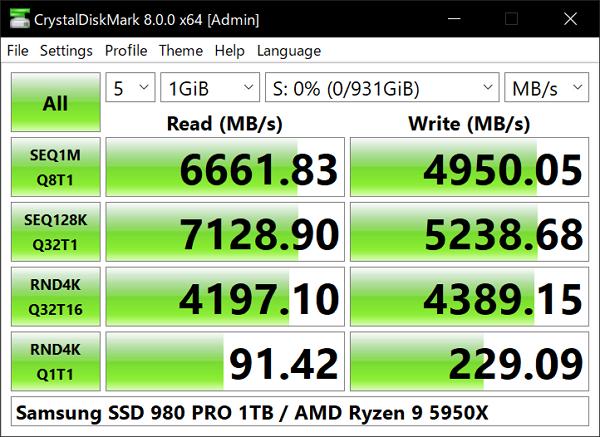 CrystalDiskMark como programa para analizar el disco duro