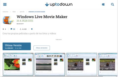 Descargar Movie Maker desde Uptodown