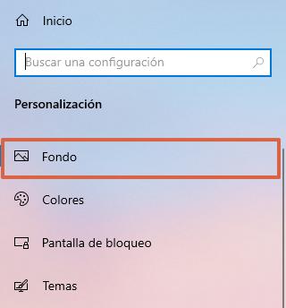 """Fondos de pantalla de Windows 10... Cómo poner un fondo diferente. Desde la función """"Personalizar"""". Paso 3"""