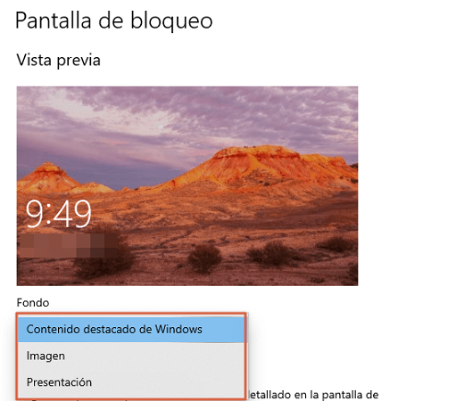 Fondos de pantalla de Windows 10... Personaliza tu escritorio por completo. Paso 7