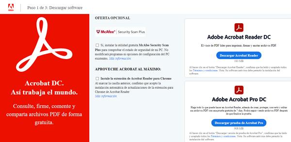 Impresora PDF Adobe Acrobat