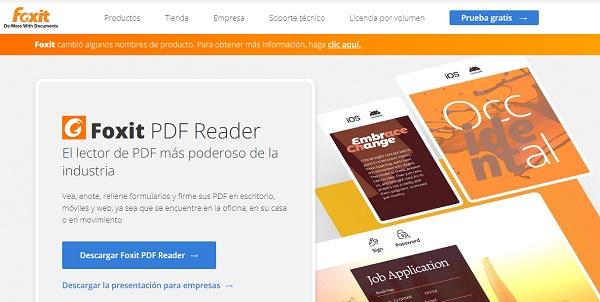 Impresora PDF Foxit como impresora PDF