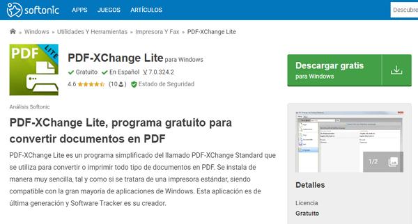 Impresora PDF-Xchange