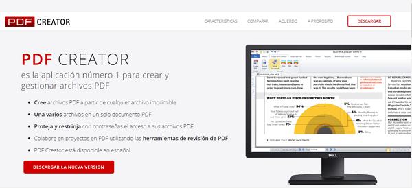 PDF Creator como impresora PDF