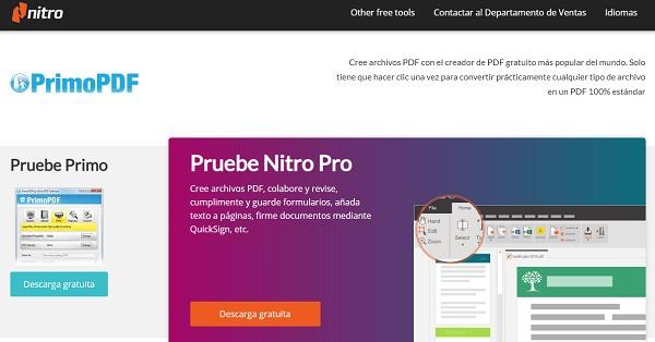 PrimoPDF como impresora PDF