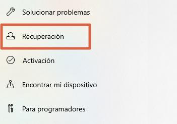 restablecer windows 10 recupera el estado original sin perder archivos desde las configuraciones paso 2