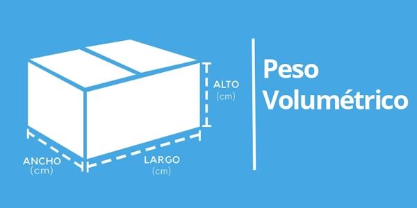 Cuál es el costo por peso y volumen en Wallapop envíos