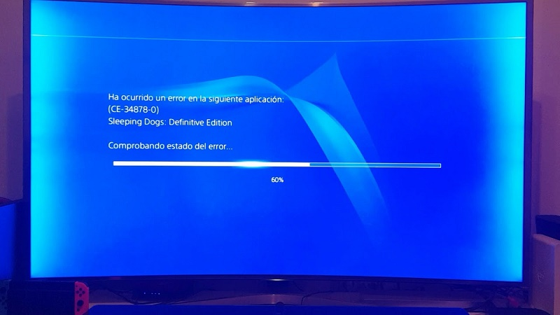 Error ce-34878-0 soluciones al código de error que aparece en la PS4