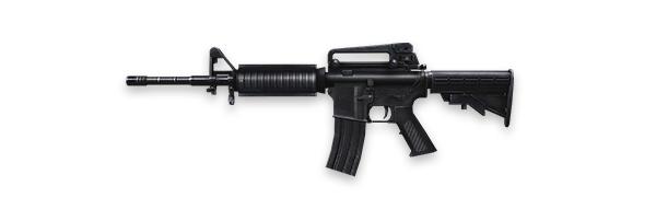 Tipos de armas y sus características. Rifles de asalto. M4A1
