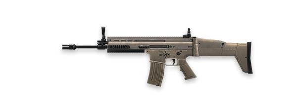 Tipos de armas y sus características. Rifles de asalto. SCAR