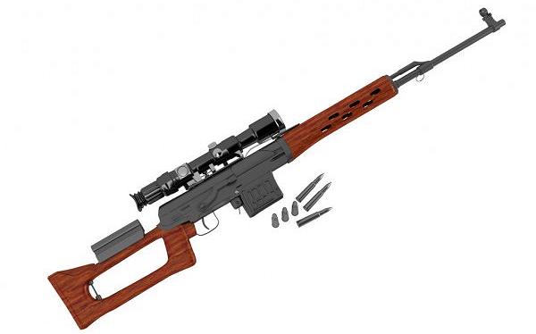 Tipos de armas y sus características. Rifles de asalto. SVD