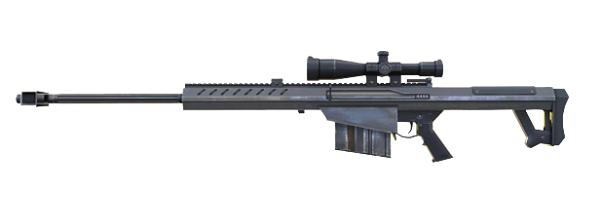 Tipos de armas y sus características. Rifles de francotirador. M82B