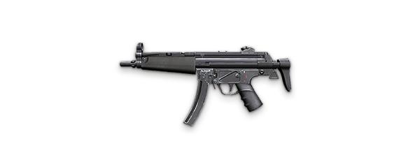 Tipos de armas y sus características. Subfusiles (SMG). MP5