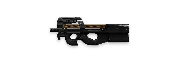 Tipos de armas y sus características. Subfusiles (SMG). P90