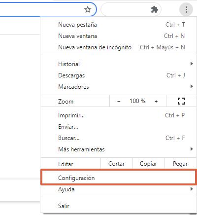 Aboutblank en Chrome qué es y para qué sirve. Configurar aboutblank como página de inicio. Paso 1