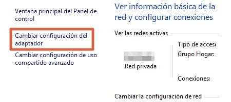 Cambiar el DNS automático y colocarlo manualmente para solucionar problemas de conexión paso 2