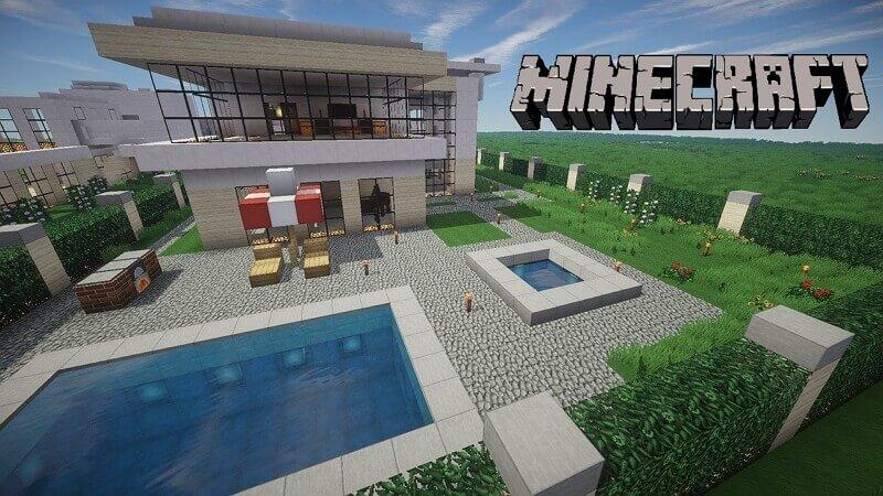 Casas de Minecraft cómo construir casas modernas y fáciles