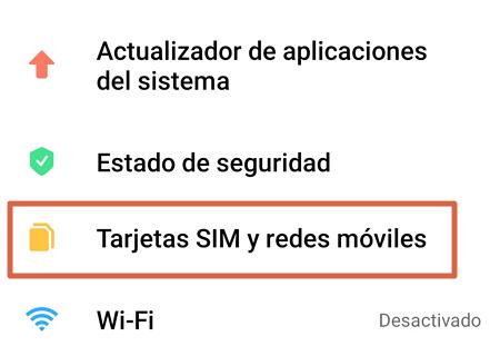 Cómo configurar APN Digitel en Android paso 2