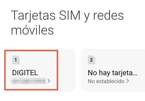 Cómo configurar APN Digitel en Android paso 3