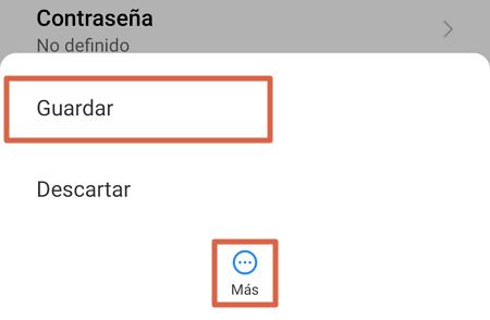 Cómo configurar APN Digitel en Android paso 7