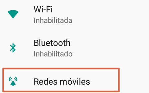 Cómo configurar APN Digitel preferencias de red paso 2