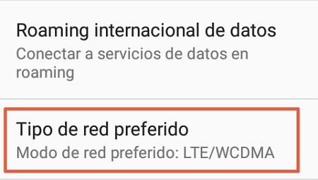 Cómo configurar APN Digitel preferencias de red paso 3