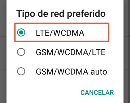 Cómo configurar APN Digitel preferencias de red paso 4